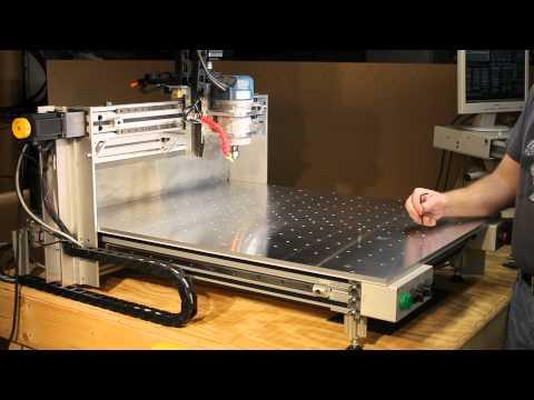 Homemade DIY CNC Series - NEW Aluminum Top Installed - Neo7CNC.com