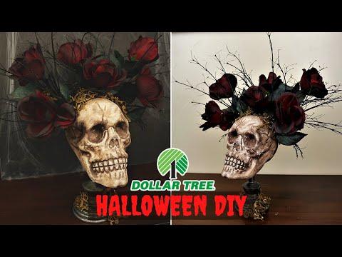 Dollar Tree DIY | DIY Halloween Decor | Easy Halloween Decor 2019