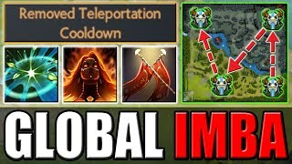 No Cooldown Global TP + Duel [Damage Farm with No Limits] Dota 2 Ability Draft