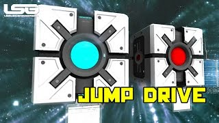 Space Engineers - Jump Drive , Ship Teleporter (Update)