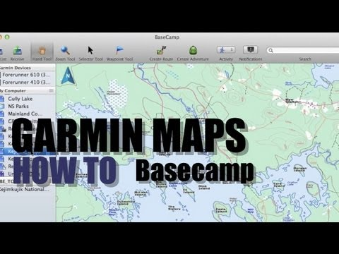 How To Install Garmin Maps on Basecamp or SD Card