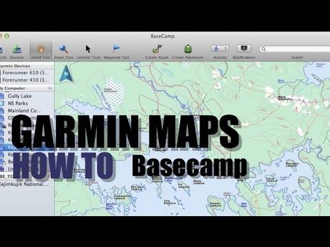 installer carte img dans basecamp How To Install Garmin Maps on Basecamp or SD Card   YouTube