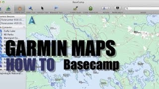 How To Install Garmin Maps on Basecamp or SD Card Free HD Video