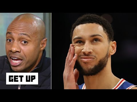 Why isn't Ben Simmons playing like Giannis? I don't get it! - Jay Williams | Get Up