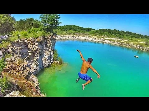 Epic Texas Cliff Jumping - Temple/Belton, TX