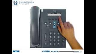 CISCO 6900 Series IP Phone - Forwarding Calls