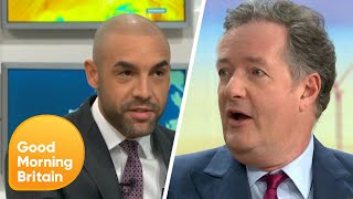Download Piers and Alex Debate Whether Racism Drove Meghan Markle out of Britain | Good Morning Britain Mp3 and Videos