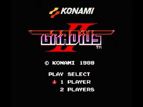 Gradius II (NES) Music - Stage 1 Burning Heat