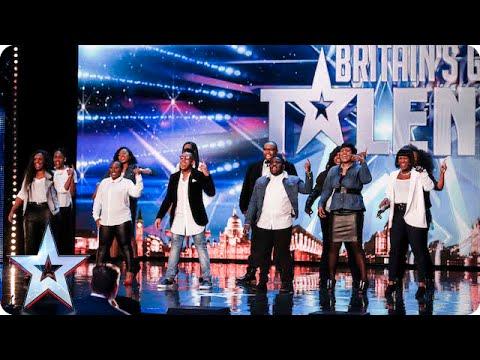 Revelation Avenue roar straight into the semi-finals!   Britain's Got Talent 2015