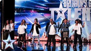 Revelation Avenue roar straight into the semi-finals! | Britain's Got Talent 2015 thumbnail
