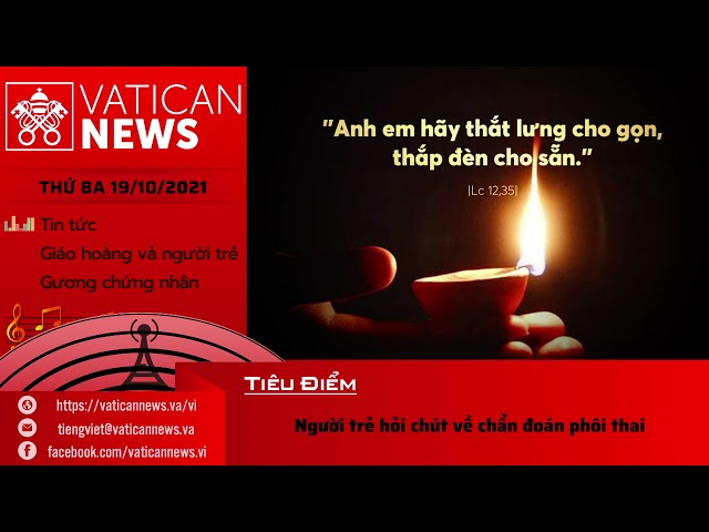 Radio Thứ Ba 19/10/2021 - Vatican News Tiếng Việt