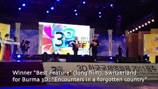 3D KIFF: Korea International Film Festival -- WINNER 2011 for Burma 3D