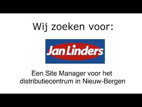 Jan Linders | Site Manager voor het distributiecentrum in Nieuw-Bergen