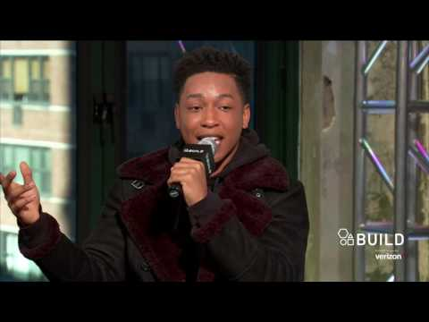 "Jacob Latimore Discusses The Movie, ""Collateral Beauty"""