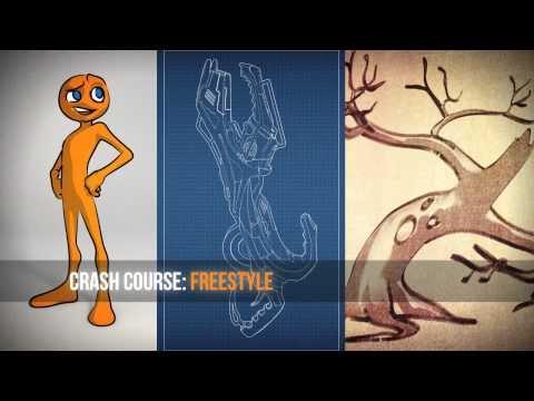 Blender Freestyle Cartoon Rendering Crash Course - Course Teaser