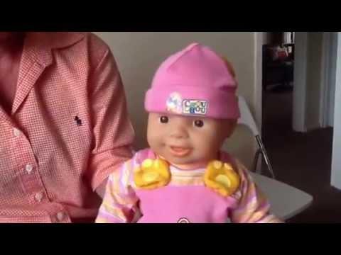 Giggling Chou Chou Doll 2002 By Zapf Creations Youtube