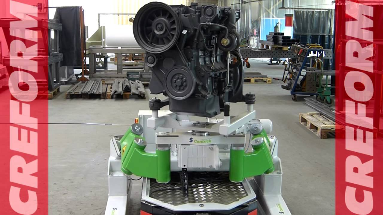 New Volvo Xc90 >> Flexible engine assembly line with CREFORM AGV and ...