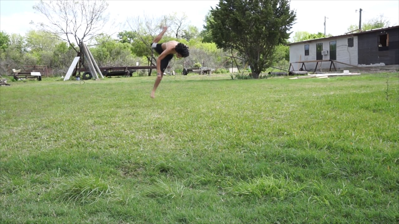 first tricking sesh of the week