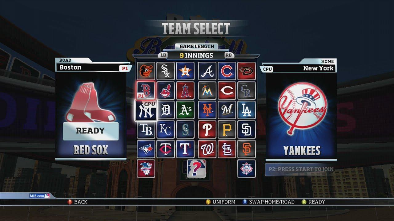 RBI Baseball 14: Red Sox vs Yankees Gameplay (Xbox 360 ... Red Sox
