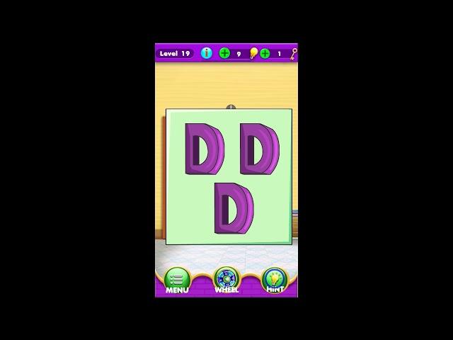 Escape Room Word Finder Challenge level 16 17 18 19 20