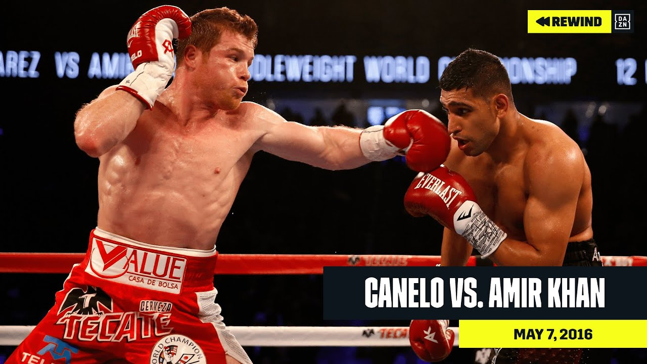 FULL FIGHT | Canelo Alvarez vs. Amir Khan (DAZN REWIND)