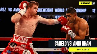 FULL FIGHT | Canelo Alvarez vs. Amir Khan (DAZN REWIND)