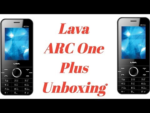 new product 0b5db 5a039 Lava arc one plus unboxing - YouTube