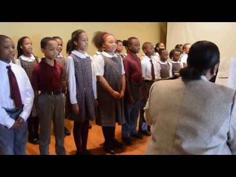 2016 High Note Luncheon - St. Martin de Porres School Vocal Students