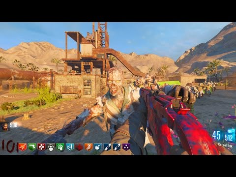RUST ZOMBIES w/ NEW WEAPONS & PERKS!!! (Black Ops 3 Custom Zombies Gameplay)