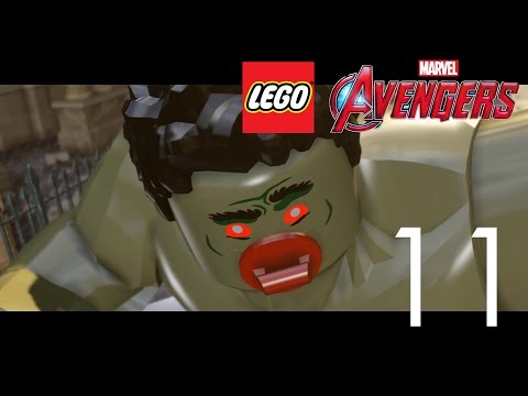 LEGO Marvel Avengers Прохождение на русском Часть 11 ХАЛК ПРОТИВ ЖЕЛЕЗНОГО ЧЕЛОВЕКА
