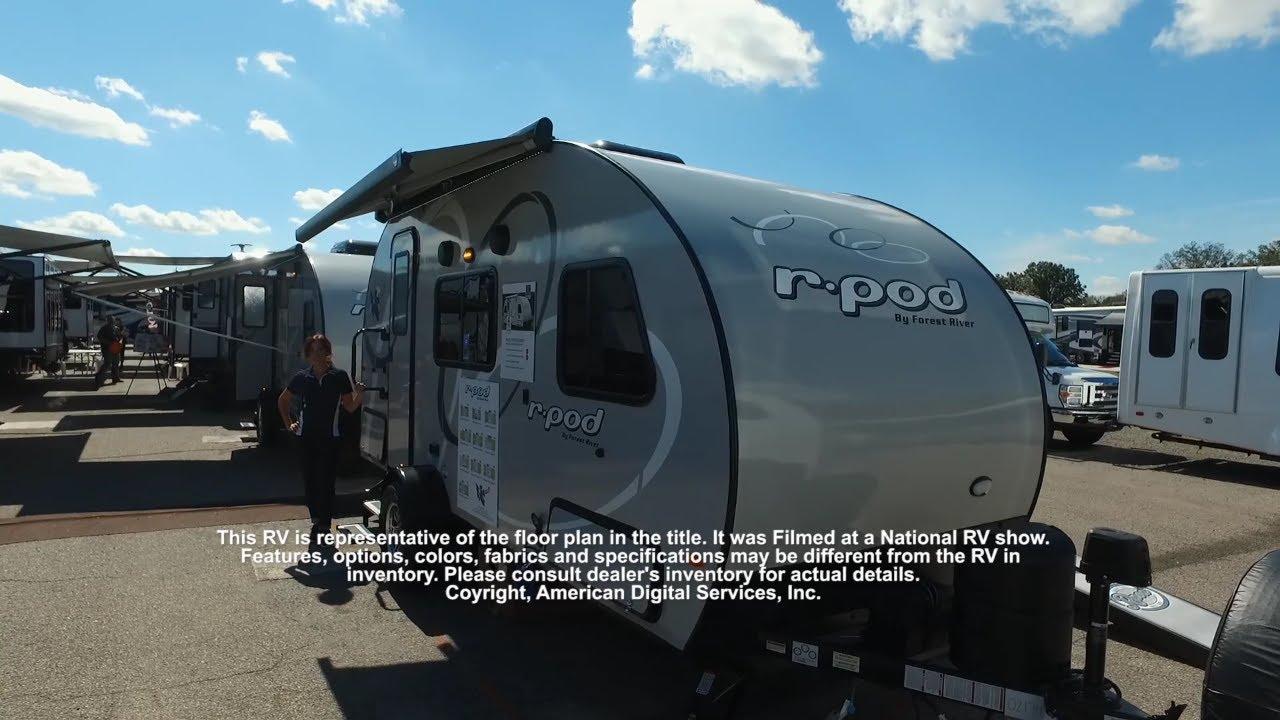 New 2020 Forest River RV R Pod RP-180 Travel Trailer at ... R Pod Floor Plans Bunkhouse on