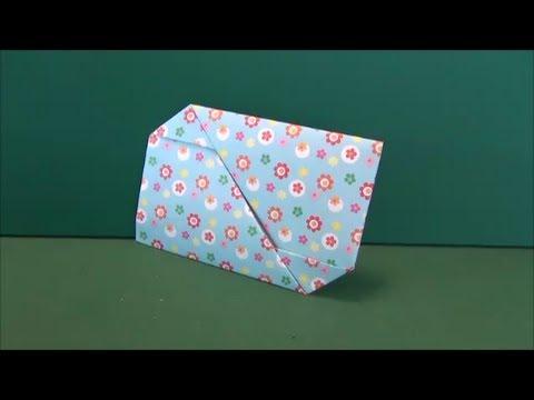 クリスマス 折り紙 折り紙 手紙 簡単 : youtube.com