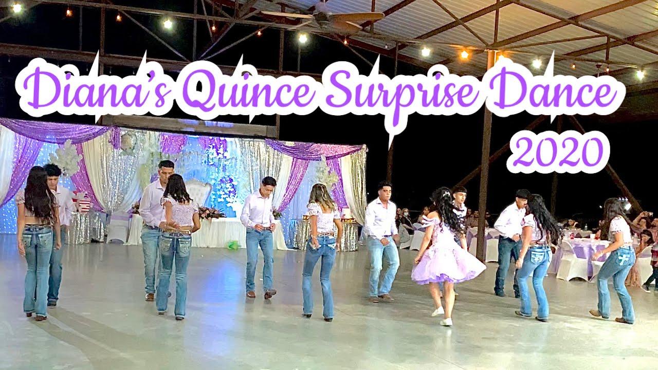 Diana's Quinceanera Surprise Dance 2020 (Cumbia, Huapango, Bachata, Wepa) | @mpchoreography_