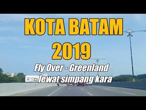 KOTA BATAM || Jalan dari Fly over simpang jam - green land melewati simpang kara dan simpang franky