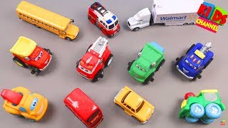 kids channel | toys for babies | cartoon cars | plastic toy car | funny toys