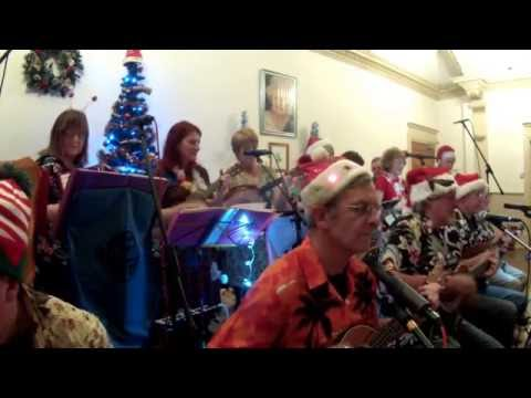 Must Be Santa - Bob Dylan - Cover - Wirral Ukulele Orchestra - 8th Dec 2016