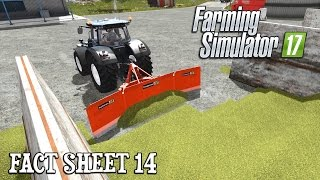 Farming Simulator 17 | Silage Leveling! Fact Sheet 14