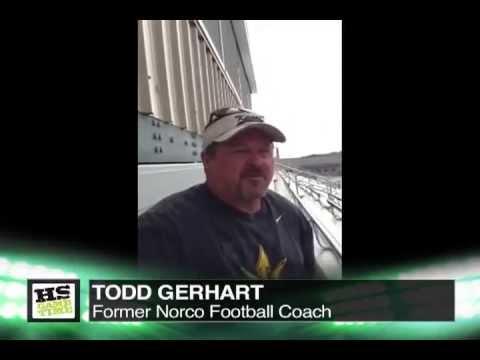FOOTBALL: Todd Gerhart Interview