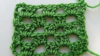 Крючок для начинающих. Урок 8: Узоры крючком. Вязание крючком.