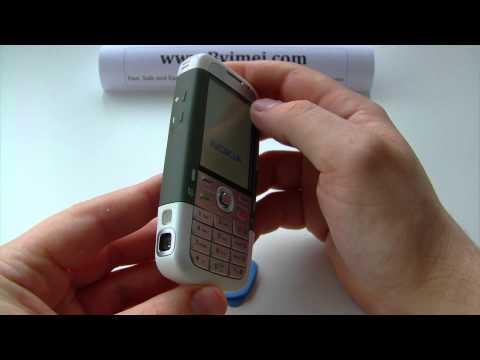 Nokia 5700 Xpress Music RM-230 Unlock & input / enter code.AVI
