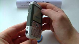 Nokia 5700 Xpress Music RM-230 Unlock & input / enter code.AVI