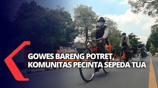 Gowes bersama Komunitas Potret Pecinta Sepeda Tua