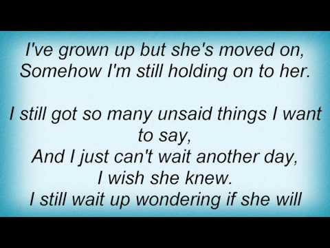 McFly - Unsaid Things Lyrics