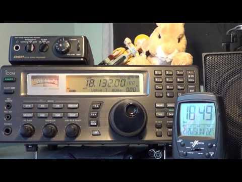 OX5T Amateur Station Nuuk Greenland 18132 USB Shortwave