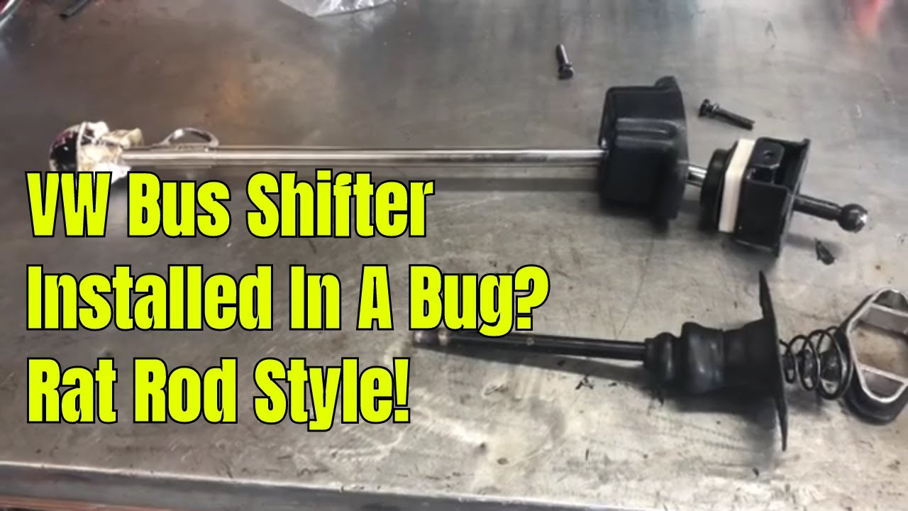 Will A Volkswagen EMPI Bus Shifter Work In A Bug? Rat Rod Style!