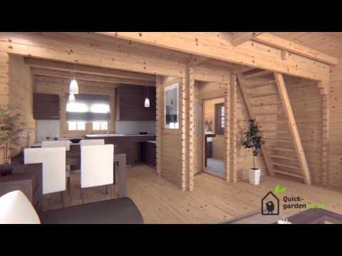 Quick Garden residential cabin Langon 66mm