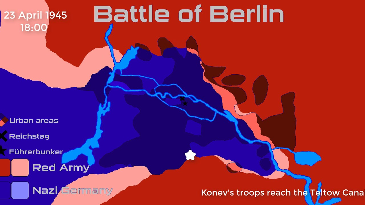 Schlacht Um Berlin Karte.Battle Of Berlin Every 6 Hours