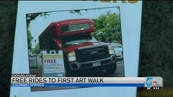 Free shuttle this Friday for First Friday Art Walk