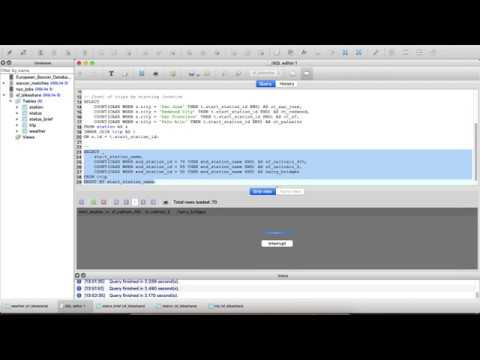 Webinar: Answering Real-World Questions with SQL Queries
