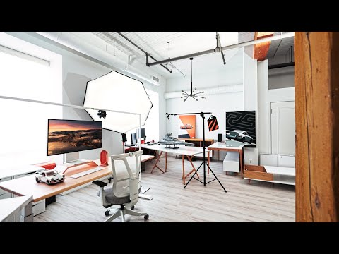 My Toronto Studio Loft Tour - The ULTIMATE Work From Home Space!